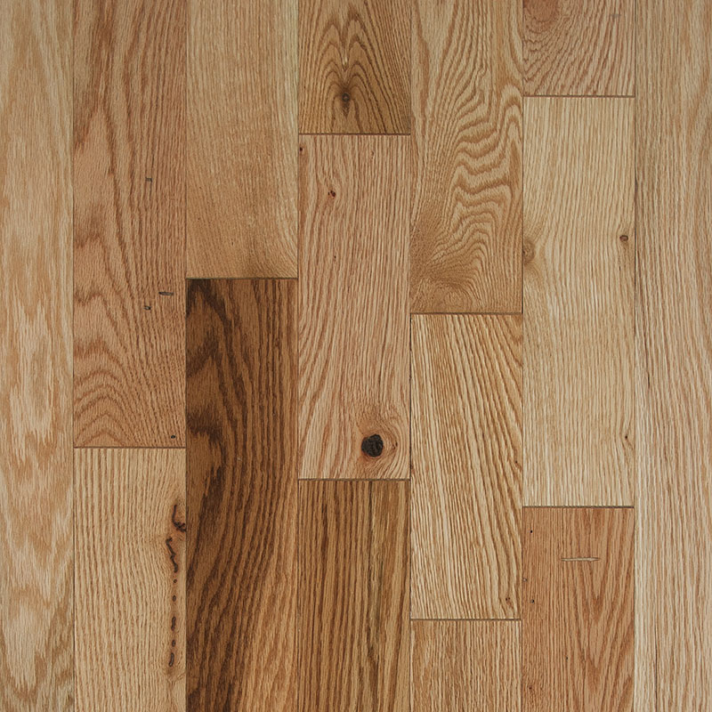 Red Oak Colonial Natural 3/4 inch x 3 1/4 inch 20 sf/ctn