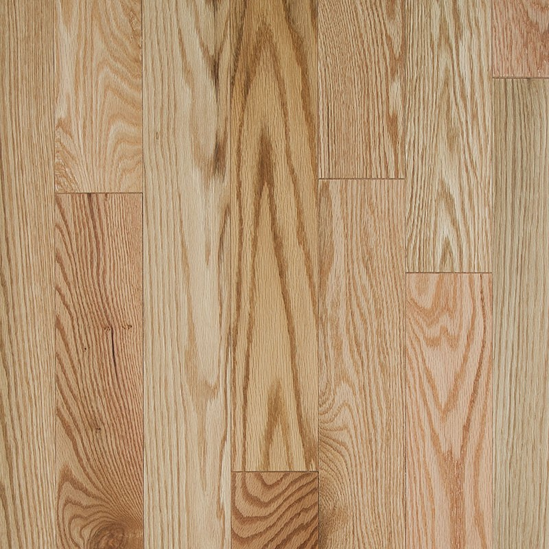 Advantage Grade Red Oak Natural 3 1/4 inch x 3/4 inch 20 sf/ctn