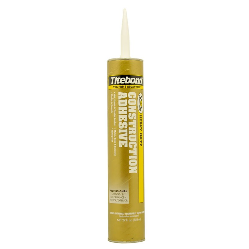 Franklin Titebond Heavy Duty Construction Adhesive 28 oz Cartridge