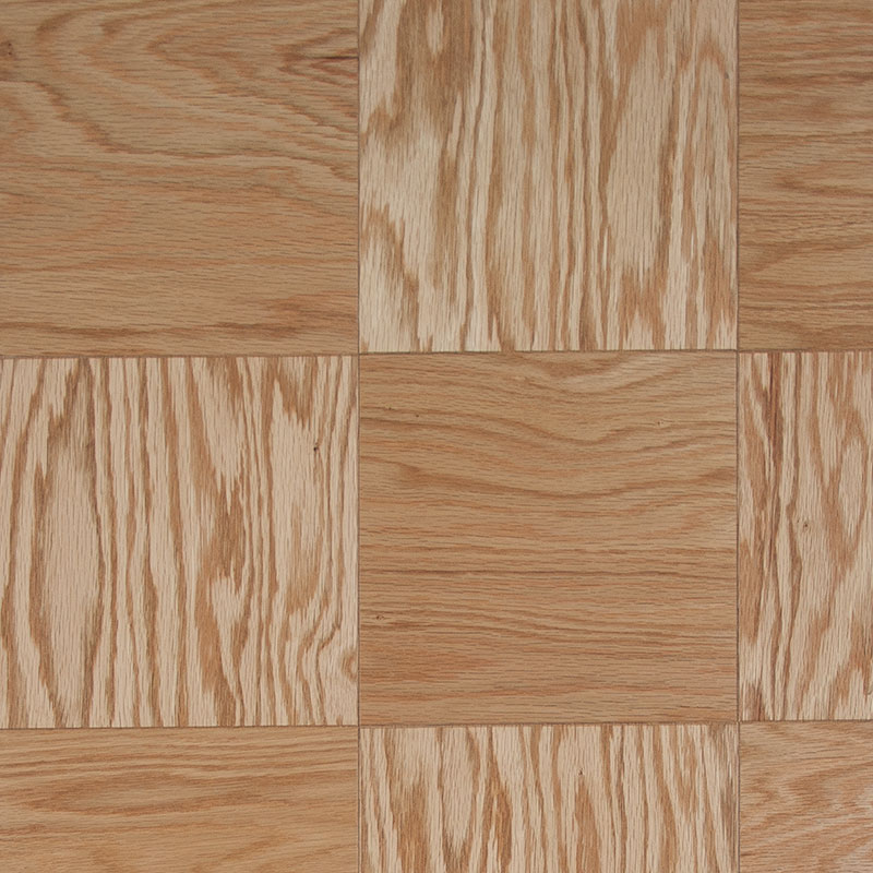 Parquet Flooring 9x9x1/2 Block Oak Natural