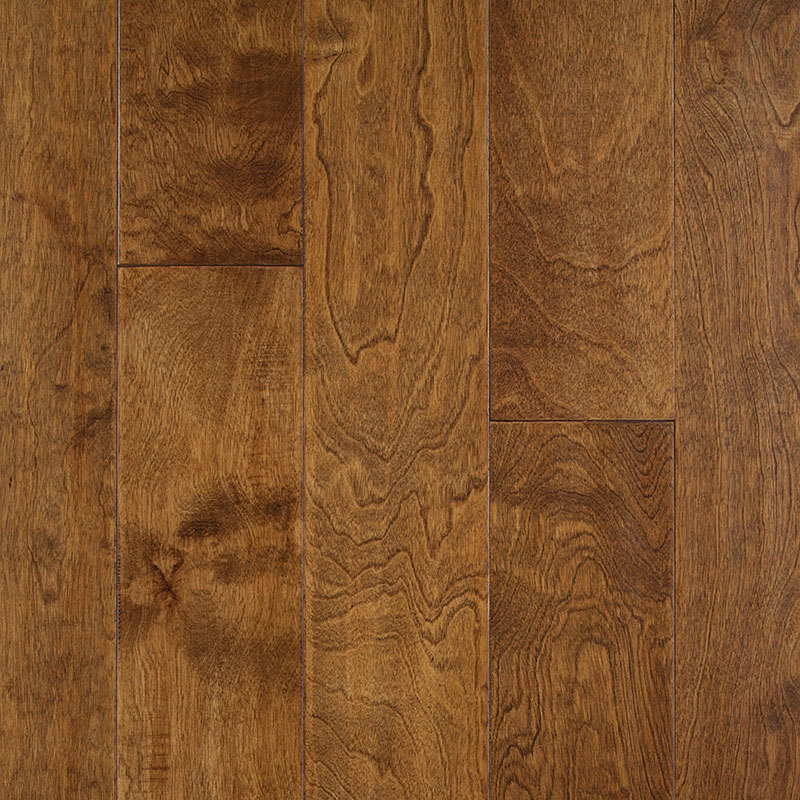 Woods of Distinction Artistic Engineered Birch Brown Sugar 4 3/4 x 1/2 33.7 sf/ctn