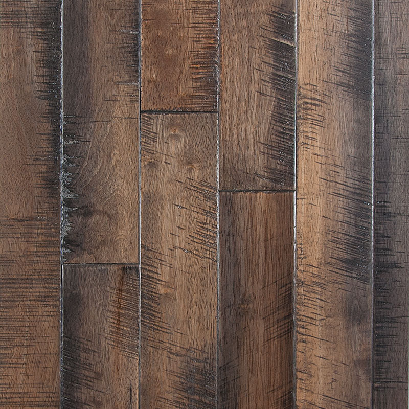 Solid Pacific Pecan Distressed Cocoa 4 x 3/4 24.05 sf/ctn