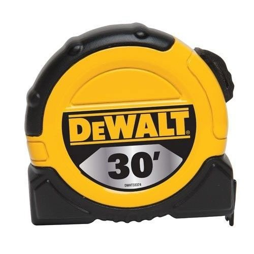 DEWALT 1 1/8inch x 30ft Short Tape, 10ft stand out