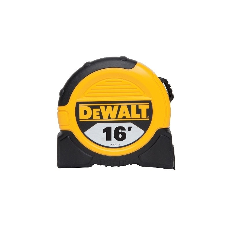 DEWALT 1 1/8inch x 16ft Short Tape, 10ft stand out