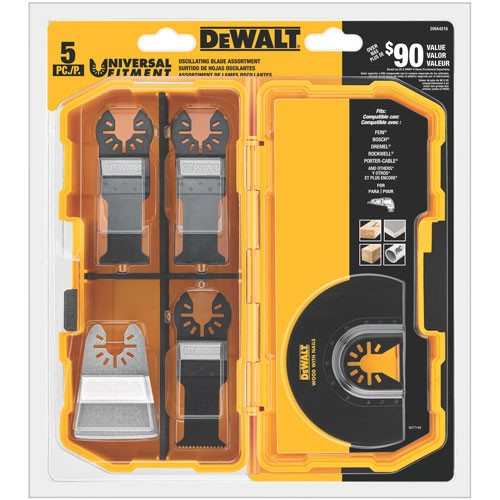 Dewalt Oscillating 5 piece Set