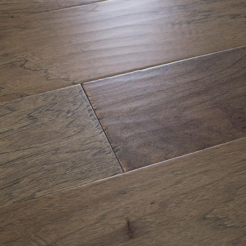 Wood Floors Plus Engineered, Hickory Mocha Laminate Flooring