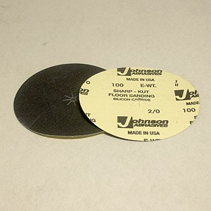 Johnson Abrasives Sharp-Kut Disc 7 inch x 5/16 inch 100-2/0 grit 1 disc