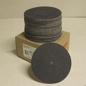 Johnson Abrasives Sharp-Kut Disc 7 inch x 5/16 inch 50-1 grit 100 disc package