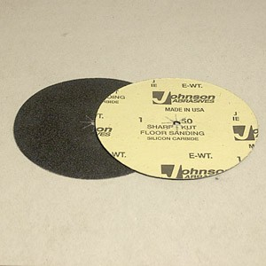 Johnson Abrasives Sharp-Kut Disc 7 inch x 5/16 inch 50-1 grit 1 disc