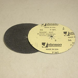 Johnson Abrasives Sharp-Kut Disc 7 inch x 5/16 inch 36-2 grit 1 disc