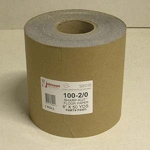 Johnson Abrasives Sharp-Kut Roll 8 inch x 50 yds 100-2/0 Grit 1 roll
