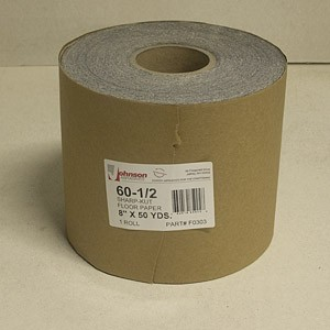 Johnson Abrasives Sharp-Kut Roll 8 inch x 50 yds 60-1/2 Grit 1 roll