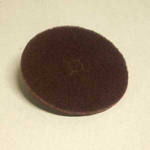 Johnson Abrasives Edger Pad (Maroon Nylon) 7 inch x 7/8 inch 1 Pad
