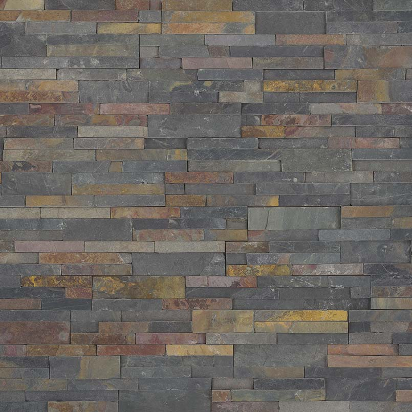 MSI Natural Stone Ledger Panel 6 x 24 Sedona Multi 6 sf/ctn