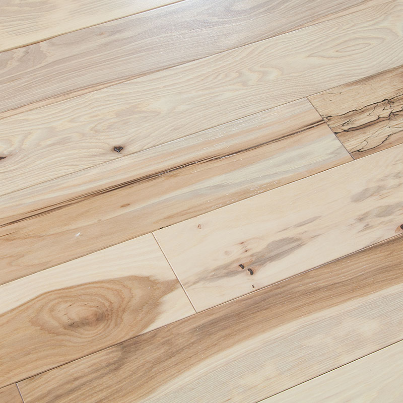 Cabin Grade Hickory Flooring: Wood Floors Plus > Solid Domestic > Clearance Mohawk Cabin