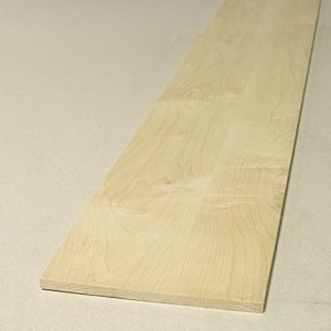 4 foot x 3/8 inch Risers Maple